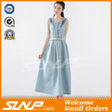 Sleeveless Fashion Embroidery Dress for Ladies