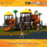 Kids Outdoor Playground Equipment for Amusement Park with Slide (2014SG-15901)