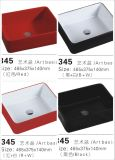 Rectangular Colored Glaze Ceramic Basin