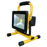 10W/20W/30W Emergency Rechargeable LED Flood Light (300 times cycle time)