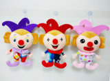 Cute Soft Toy Dolls Clown Plush Stuffed Toy for Promotion