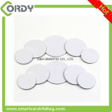 Small Cheap printing rewritable disc NFC tag label sticker