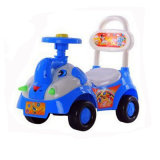 New Fashion Popular Children Swing Car with Big Basket Wholesale
