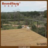Manufacturer Custom Stainless Steel Cable Balustrade for Balcony Handrail (SJ-S055)