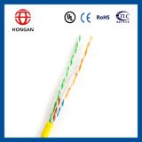 UTP CAT6 0.5mm CCA Data Cable of Indoor Wiring