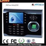 Fingerprint Time Clock Punch Card Attendance Machine Fingerprint Iclock360 Time Attendance