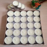 Wholesale 3.8*1.1cm 10g White Paraffin Tealight Candles