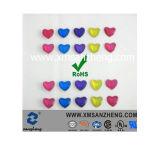Heart Shape Resin Stickers