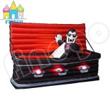 Inflatable Halloween Coffin Decoration Lights