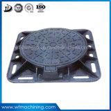 OEM Ductile/Grey Iron Sand Casting Square Manhole Cover (Qt500-7)