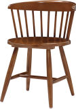 Superior Solid Wood Bar Chairs with Back (FOH-BCA77)