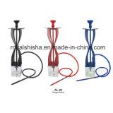 China New Design Acrylic Vase Shishabuck with LED Aluminum Hookah