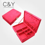 Wholesale Pink Velvet Jewelry Display Box