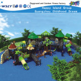 Woods Series Kids Outdoor Playgrounds Slide Playsets HD-031A