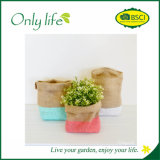 Onlylife Eco-Friendly Fashion Design Jute Flower Pot/Planter