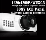 Perfect Image 10000 ANSI Lumens LCD Projector, Native 1920X1200pixels for Large-Scale Stage Performances