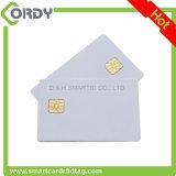 White PVC SLE4428 Contact Smart IC Card with custom Printing