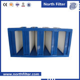 4V Galvanized Frame Medium Filter for Air Conditioning