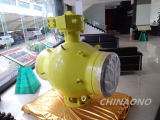 Sphcrial Full Welded Electric Type Trunnion Mounted Ball Valve