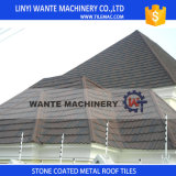Aluminum Zinc Steel Stone Coated Metal Roof Shingle Tiles