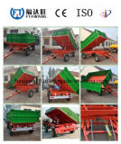 China Single Axle Farm Tractor Trailer/Box Trailer for Sale