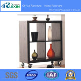 Movable Wooden Storage Shelf (RX-S3034)