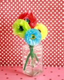 Tissue Paper Posy Flowers