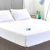 Hypoallergenic Waterproof White Mattress Protector/Cover