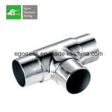 Stainless Steee Tee Elbow for Handrail From China Factory