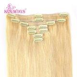 Clip in Hair 100% European Virgin Remy Human Hair