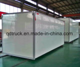 FRP Closed Van Truck body, refrigerated truck body, dry box truck body