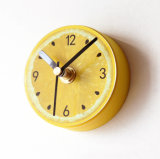 Magnetic Fridge / Kitchen Lemon Clock, Mini Silent Sweep DIY Clock for Home Decoration