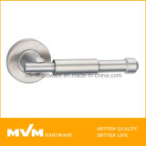 Stainless Steel Door Handle on Rose (S1050)