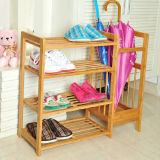 Cheap Over Door Bamboo Shoes Storage Rack