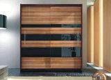 New Modern Quality 2 Sliding Door Large Wardrobe (HF-EY08096)