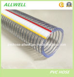 PVC Steel Wire Spring Spiral Plastic Industrial Pipe Hose