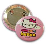 Kitty Cat Tin Badge, Printing Lovely Badge (GZHY-MKT-035)
