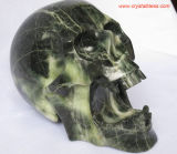 Gemstone Skull Carvings
