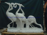 Animal Marble Statue Marble Sculpture Stone Carving for Garden