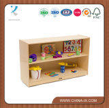 Customized Wooden Storage Cabinet with Casters
