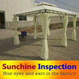 Outdoor Furniture Inspection Service / Garden Gazebo Quality Inspection / Sunchine Professional Inspection in China and in Indonesia