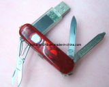 Swiss Army Knife Shape Metal USB Pen Drive (ML-033)