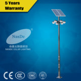 Aluminium Alloy Lamppost LED Solar Powered Garden Light
