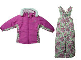 Children Girls' Ski Wear/Jacket and Pant Suit