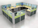 Modern Customized Office System Circle Office Partition Workstation Project (SZ-WS662)