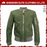 Olive Green High Quality Cheap Bomber Jacket Wholesale (ELTBJI-35)