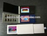 "Portable Advertising Brochure 2.4"" LCD Marketing Name Card"