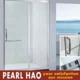 Quadrat Tempered Transperant Glass Sliding Bathroom Shower