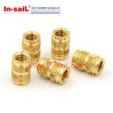 Shenzhen Knurled Brass Threaded Insert Nut