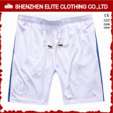 Comfortable Professional White Soccer Shorts for Mens (ELTSSI-22)
